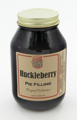 HuckleBerry Pie Filling