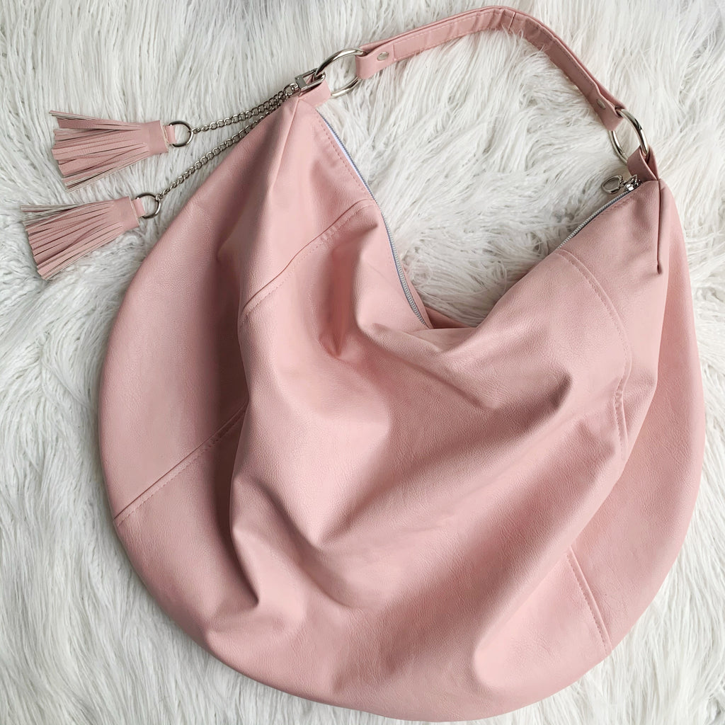 Custom slouchy hobo