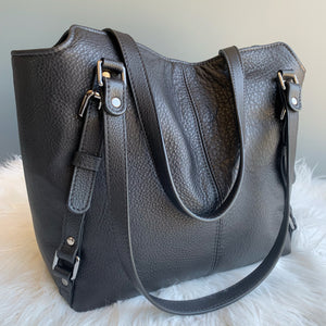 With all my heart leather handbag