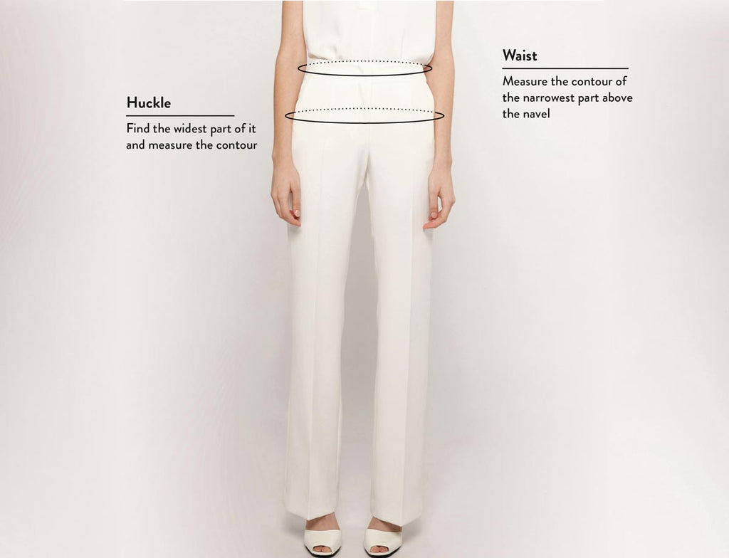 Woman trousers size guide