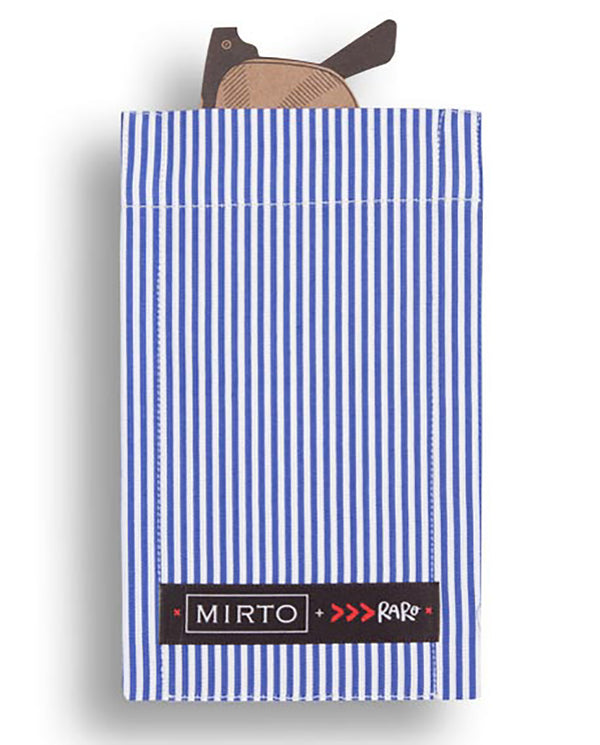 "Glass Pocket Square ""The Shirtmaker"" by MIRTO"