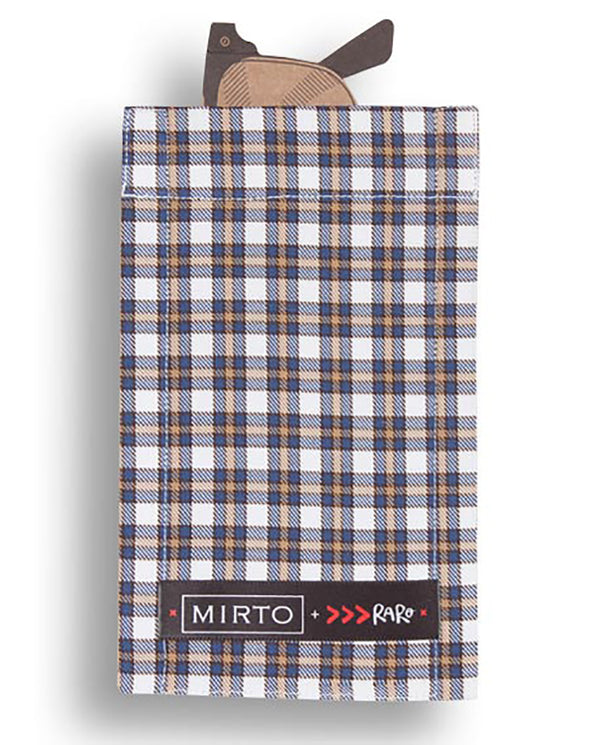 "Glass Pocket Square ""Crossing Lines"" by MIRTO"
