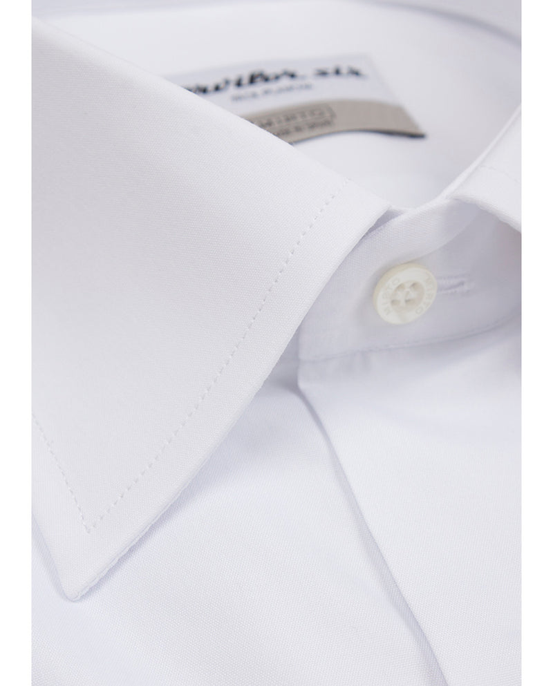 WHITE CLASSIC COLLAR TERVILOR SIR EXTRA SHORT by M