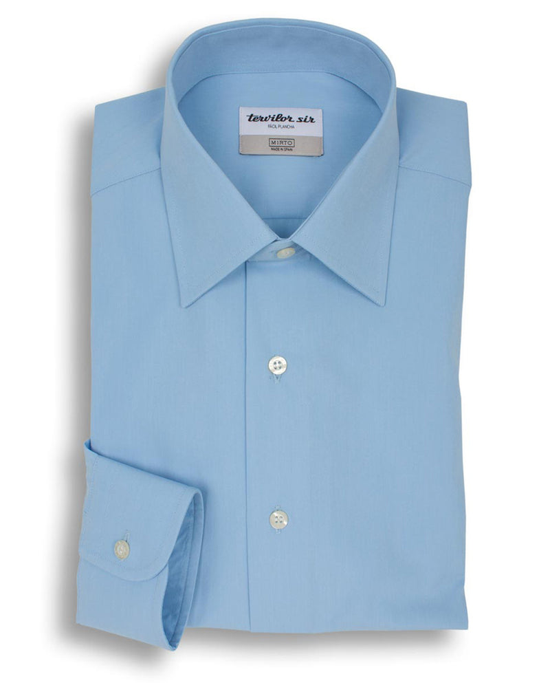 BLUE CLASSIC COLLAR TERVILOR SIR EXTRA SHORT by MI