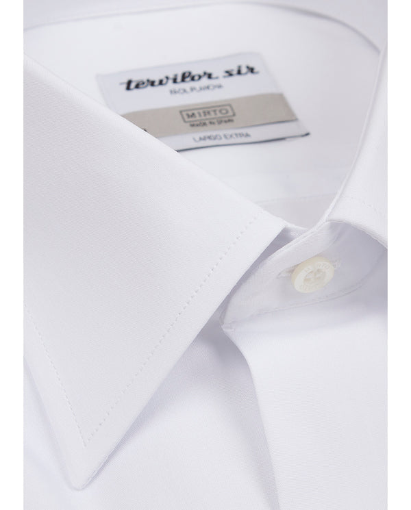 CLASSIC COLLAR TERVILOR SIR EXTRA LONG SHIRT by MI