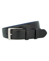 BLACK DRESS BELT by MIRTO