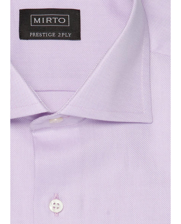 PURPLE SPREAD-COLLAR DRESS SHIRT by MIRTO