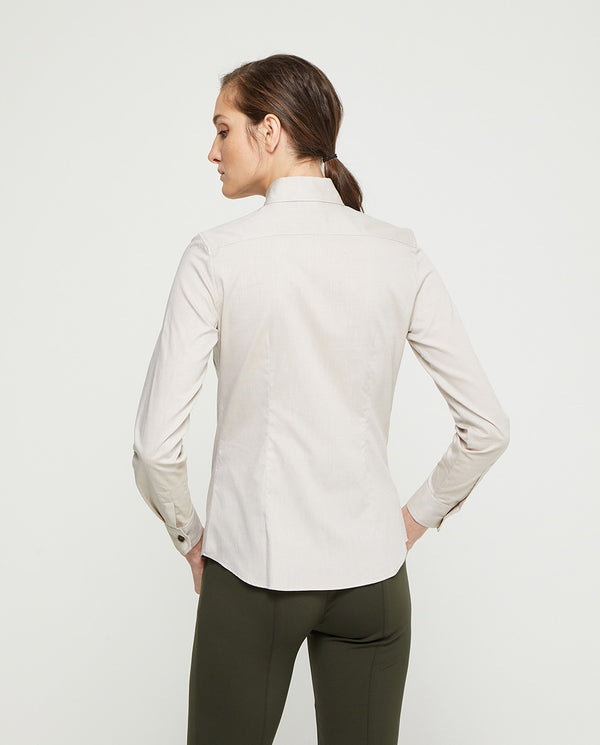 PLAIN BEIGE SHIRT