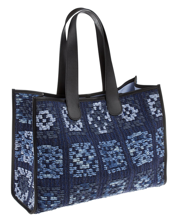 BOLSO SHOPPING MEDIANO CROCHET by MIRTO