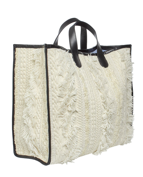 BOLSO SHOPPING GRANDE BLANCO by MIRTO