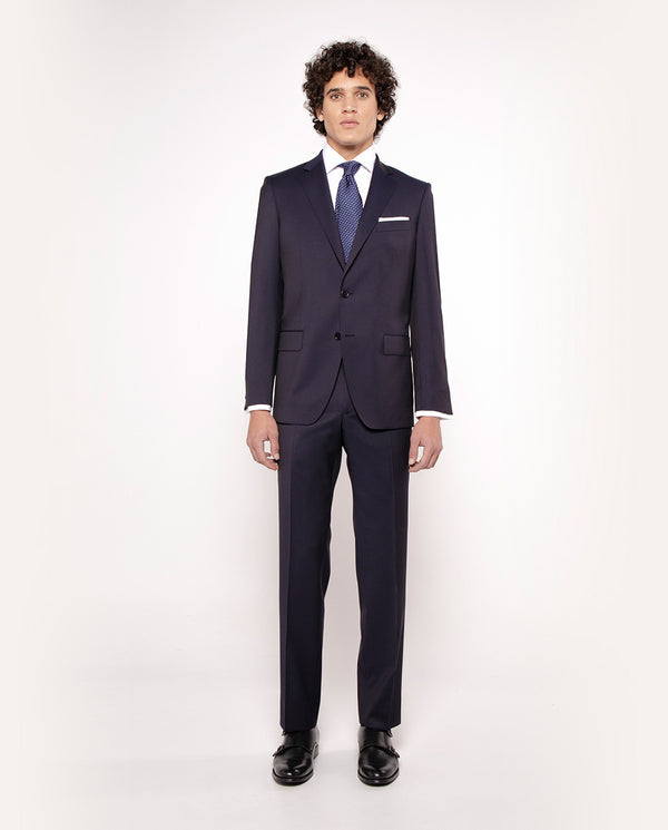 "TRAJE ""TRAVEL SUIT"" LANA SUPER 100's MARINO by MIR"