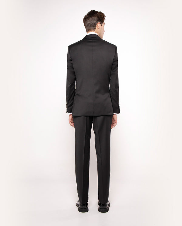 "TRAJE ""TRAVEL SUIT"" LANA SUPER 100's NEGRO by MIRT"