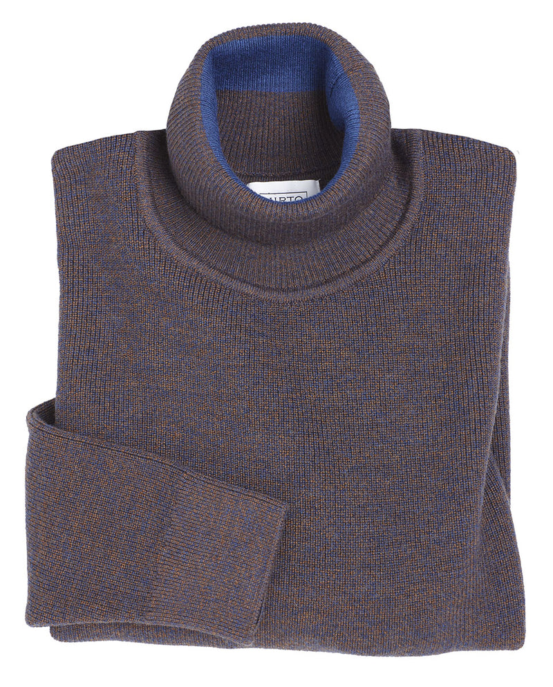 ROLLNECK WOOL SWEATER