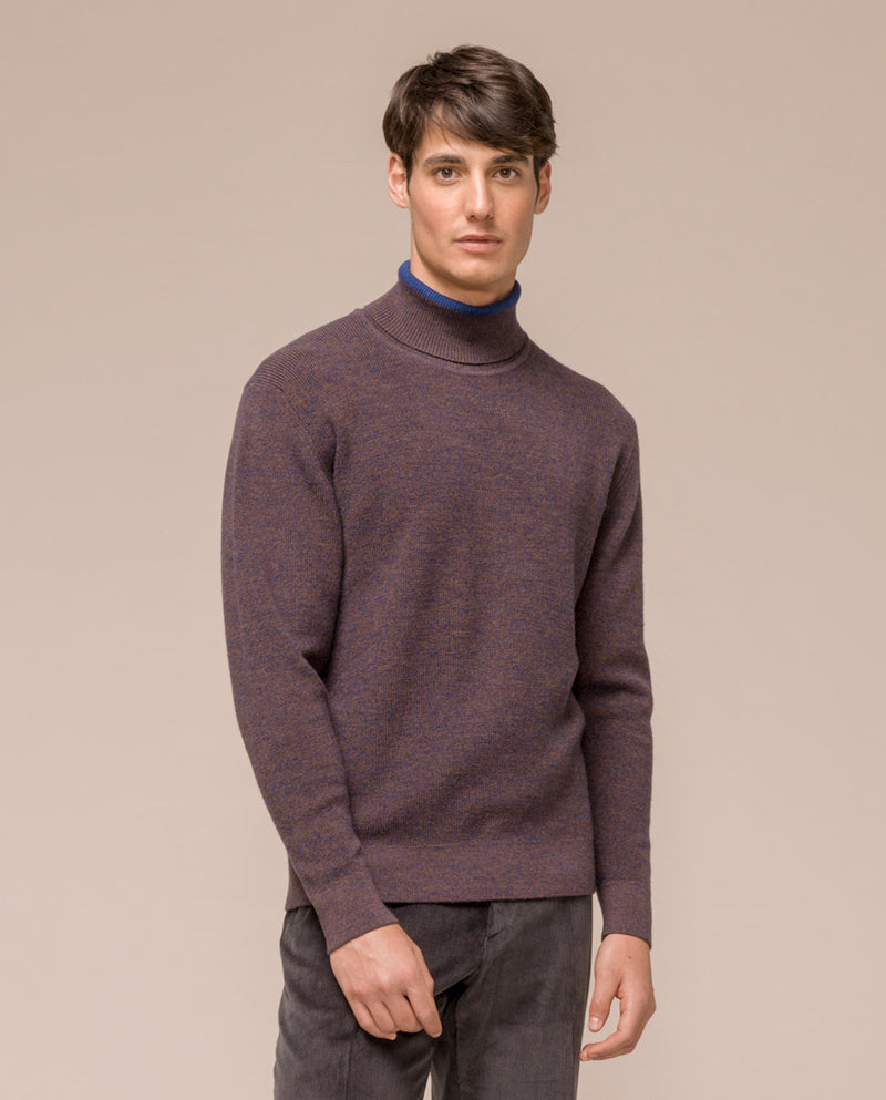 ROLLNECK WOOL SWEATER by MIRTO
