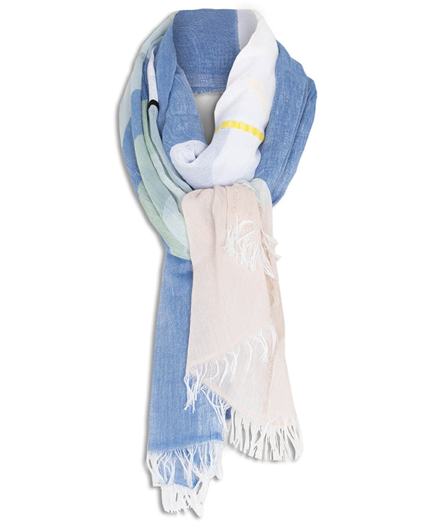 FOULARD AZUL by MIRTO