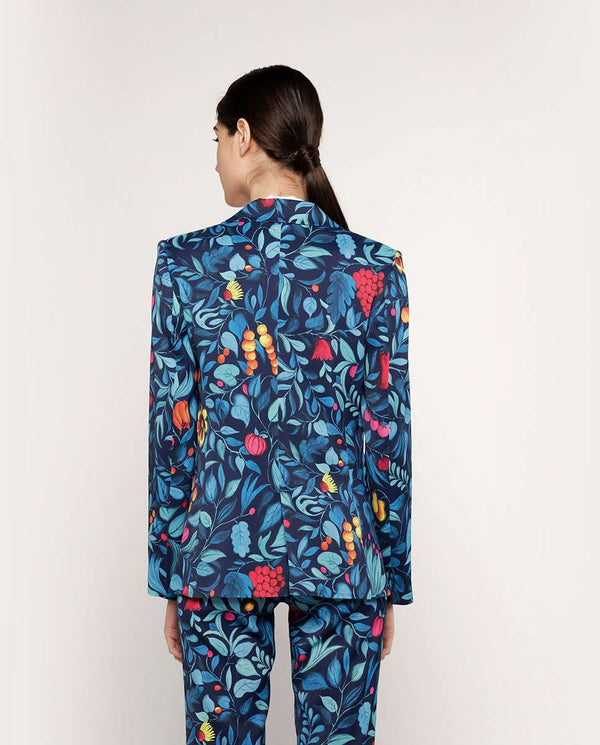 FLOWER PRINT JACKET by MIRTO