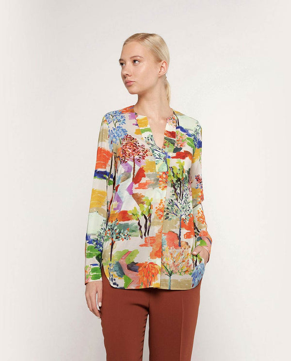 BLUSA ESTAMPADO COLORISTA by MIRTO
