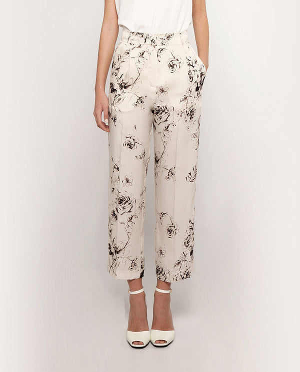 PANTALON ESTAMPADO FLORAL by MIRTO