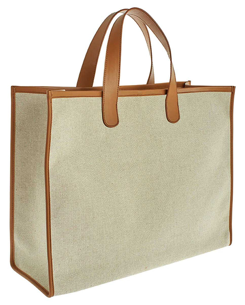 CANVAS MAXI TOTE BAG  -ONLINE EXCLUSIVE-