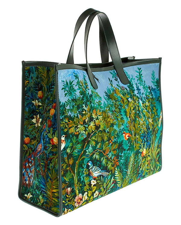 GARDEN MAXI TOTE BAG  -ONLINE EXCLUSIVE-