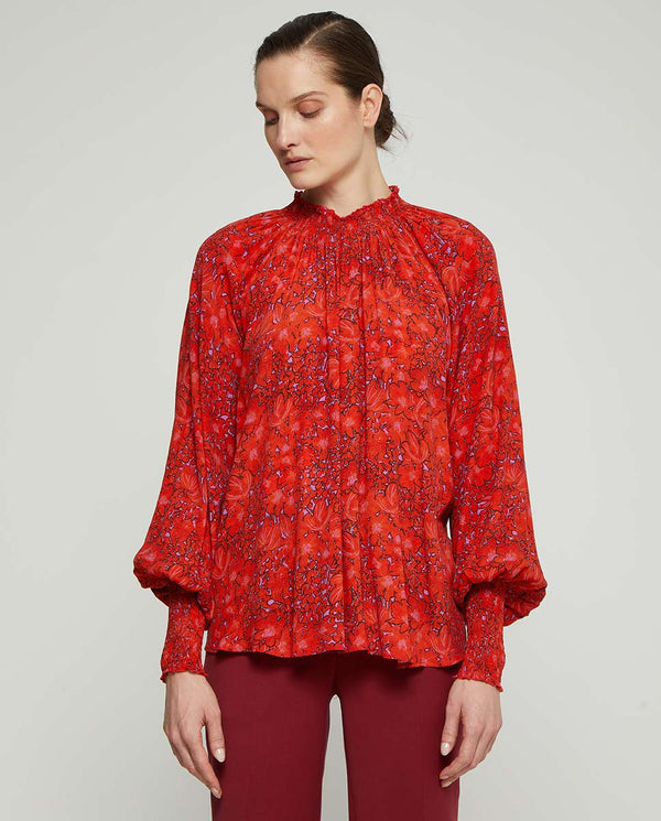 BLUSA FLORAL by MIRTO