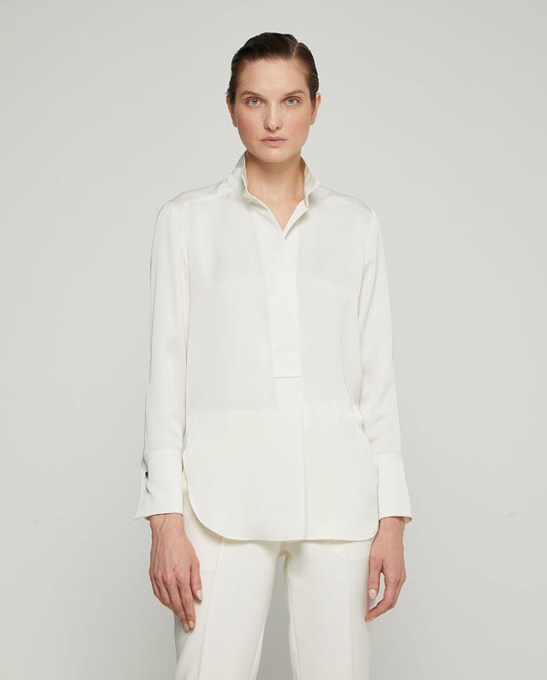 BLUSA LISA BLANCA by MIRTO