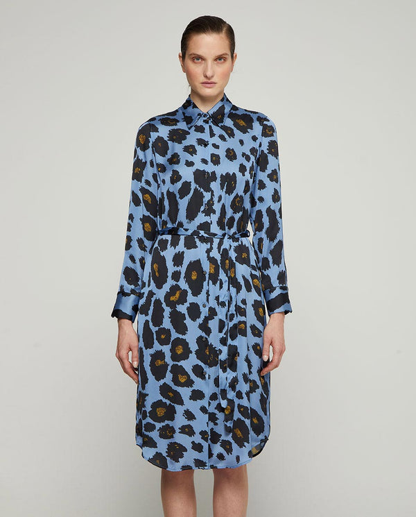 VESTIDO MIDI ANIMAL PRINT by MIRTO