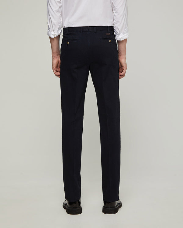 CASUAL STRETCH-COTTON PANTS by MIRTO