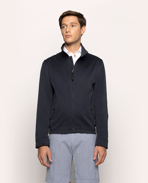 STRECH-COTTON HARRINTON JACKET