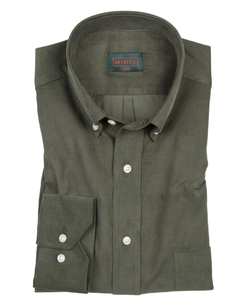 CASUAL COTTON-CORDUROY SHIRT by MIRTO