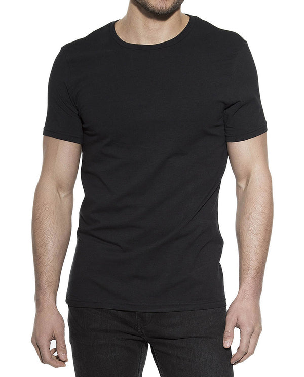 CREW-NECK BLACK by MIRTO