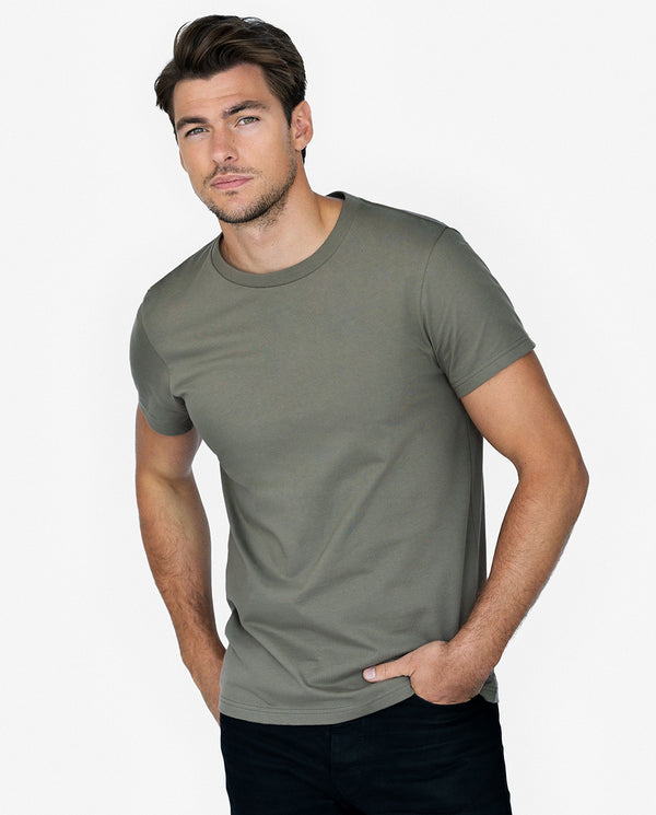 CREW-NECK ARMY GREEN