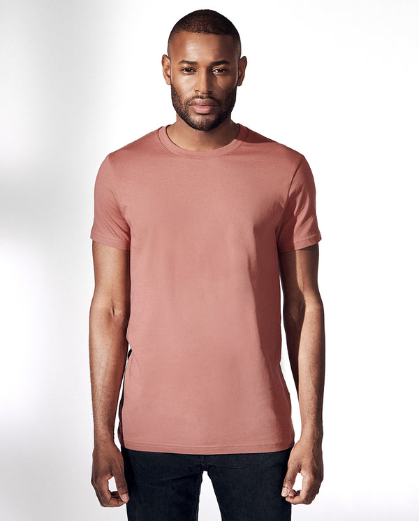 CREW-NECK DARK PEACH