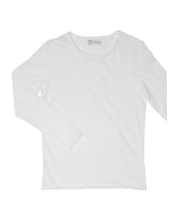 LONG-SLEEVE RELAXED WHITE by MIRTO