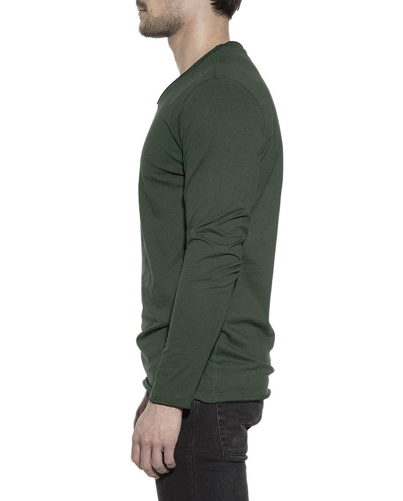 LONG SLEEVE ARMY GREEN