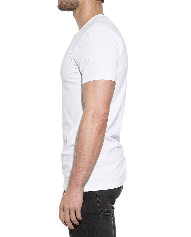 2-PACK CREW-NECK WHITE by MIRTO