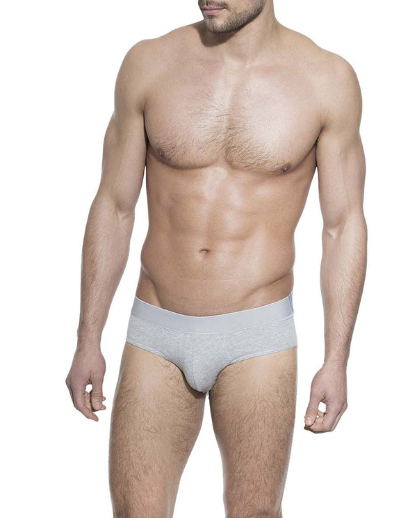 BRIEF GREY MELANGE by MIRTO
