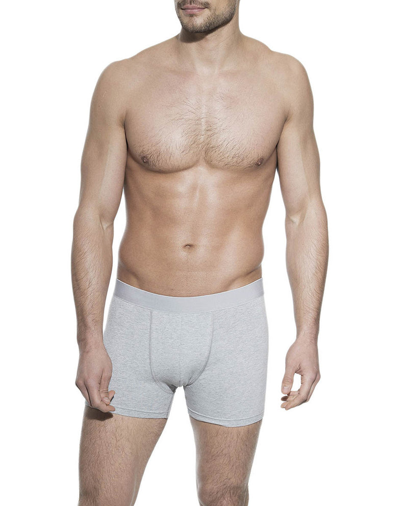 BOXER BRIEF GREY MELANGE by MIRTO