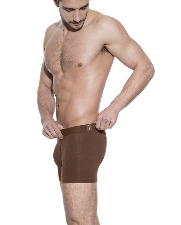 BOXER BRIEF BROWN by MIRTO