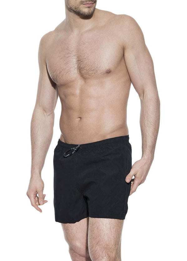 SWIM TRUNK BLACK by MIRTO