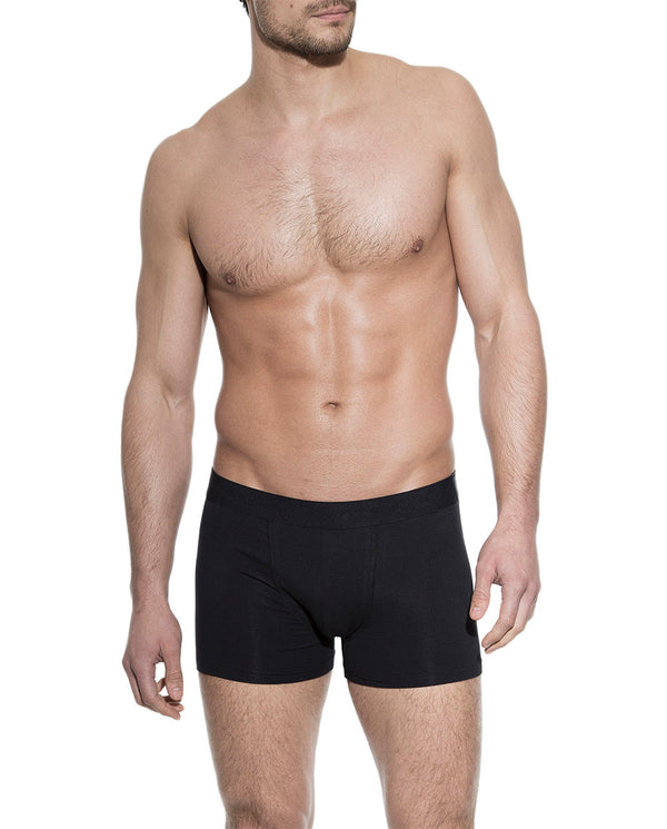 3-PACK BOXER BRIEF BLACK by MIRTO