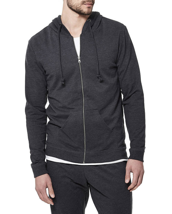 HOODIE DARK GREY MELANGE by MIRTO