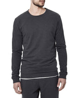 SWEATSHIRT DARK GREY MELANGE by MIRTO
