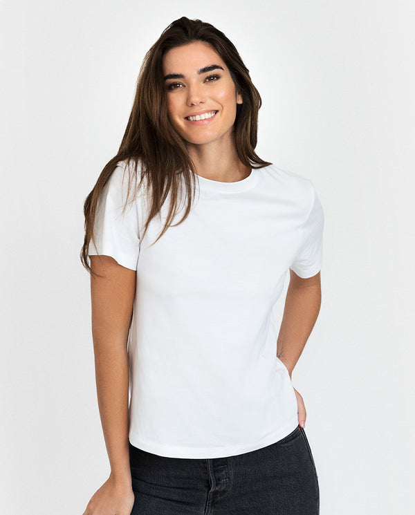 SB T-SHIRT CLASSIC WHITE by MIRTO