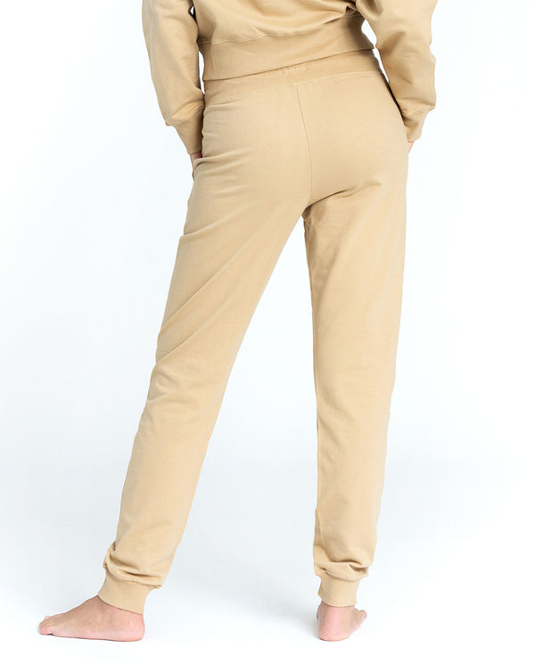 SB LOUNGE PANT BEIGE by MIRTO
