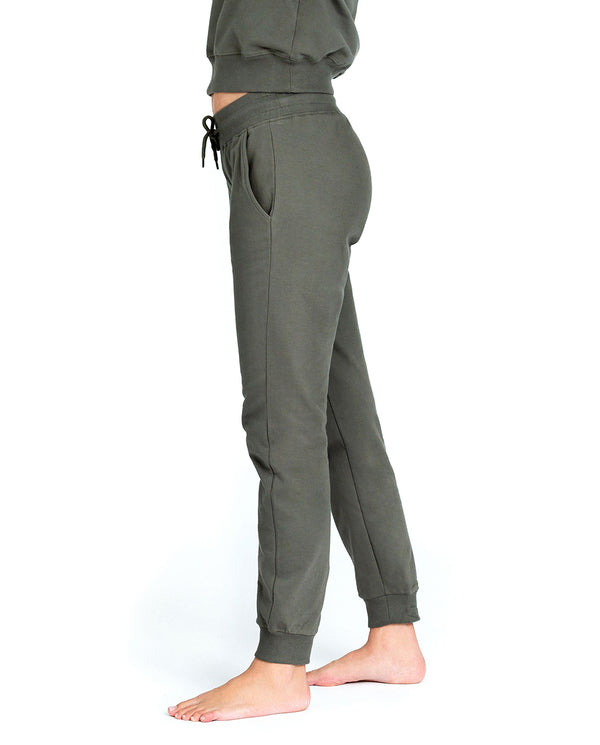 LOUNGE PANT OLIVE GREEN