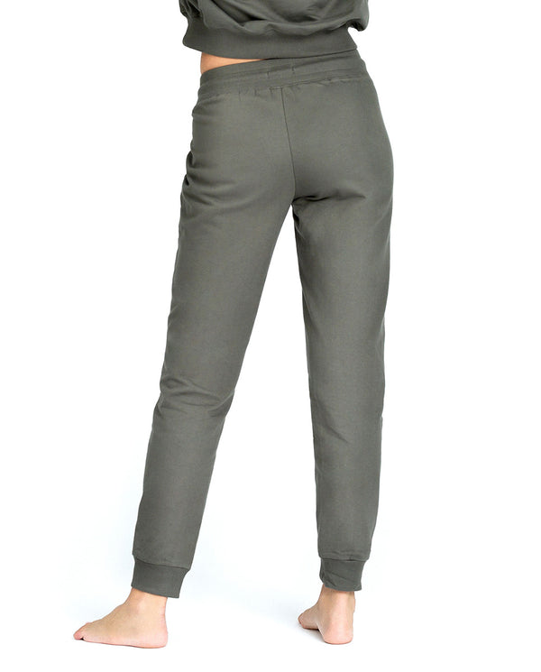 PANTALON JOGGER VERDE OLIVA BY BIDERMAN by MIRTO