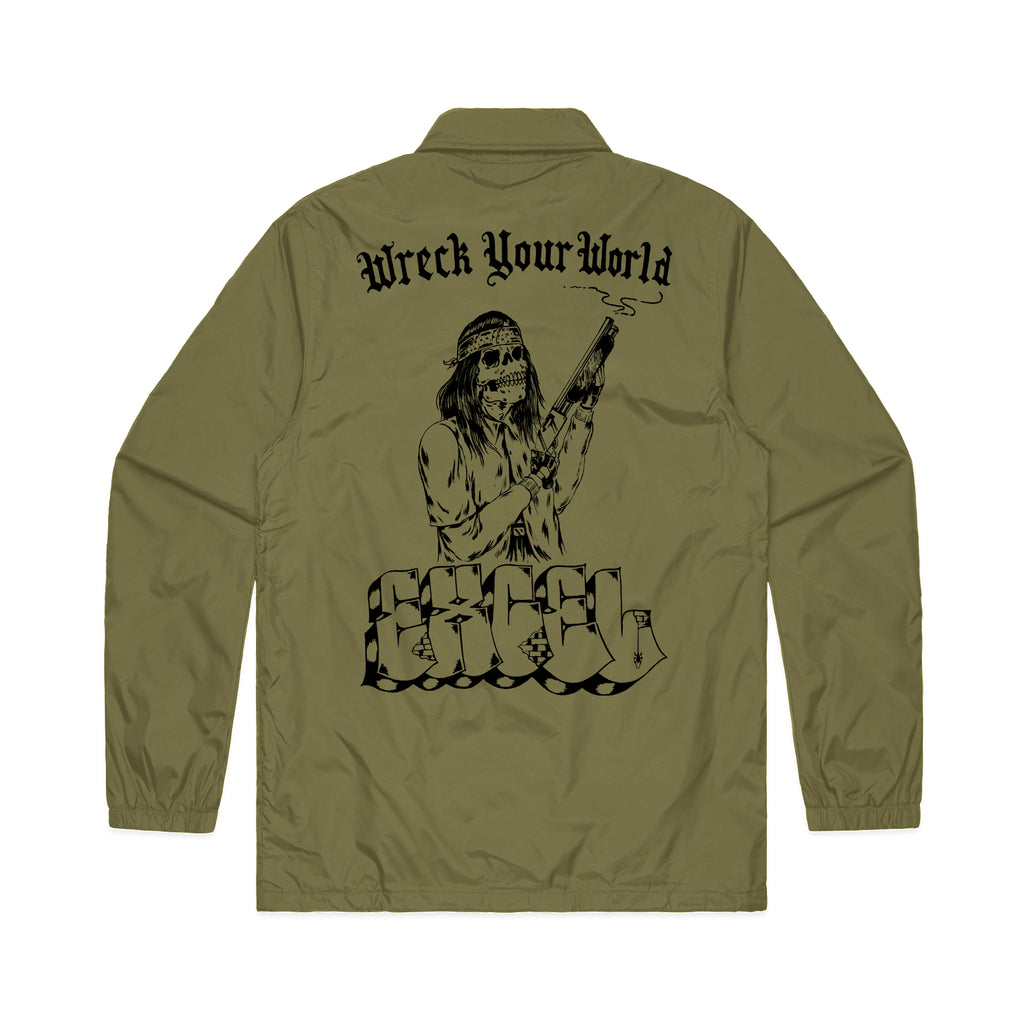 Wreck Your World Coaches Jacket