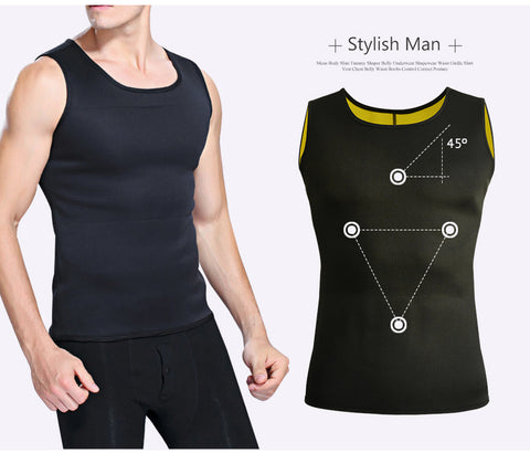 Men Slimming Waist Shaping Vest