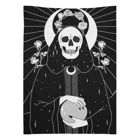 Priestess Wall Tapestry in two sizes - Moon Goddess Market